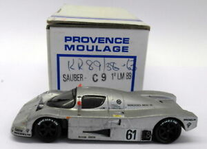 Provence-Moulage-1-43-Scale-Resin-Kit-RR89-Sauber-C9-1st-LM-1989