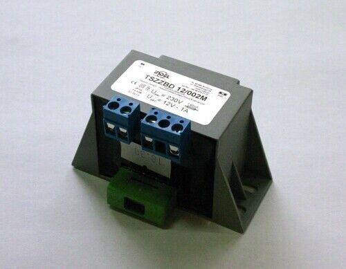 Transformador De Corriente Encapsulado 12V 1.0A conduce terminal tszzbd 12//002M Indel RoHS