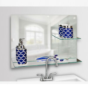 18 x 24 bathroom mirror danya b sofia 24 x 18 quot frameless bathroom mirror with 21766