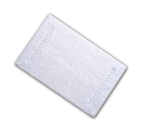 Erhältlich IN Schwarz Oder Weiß Strass Baumwolle 1600gsm Badematte 50 X 80 CM