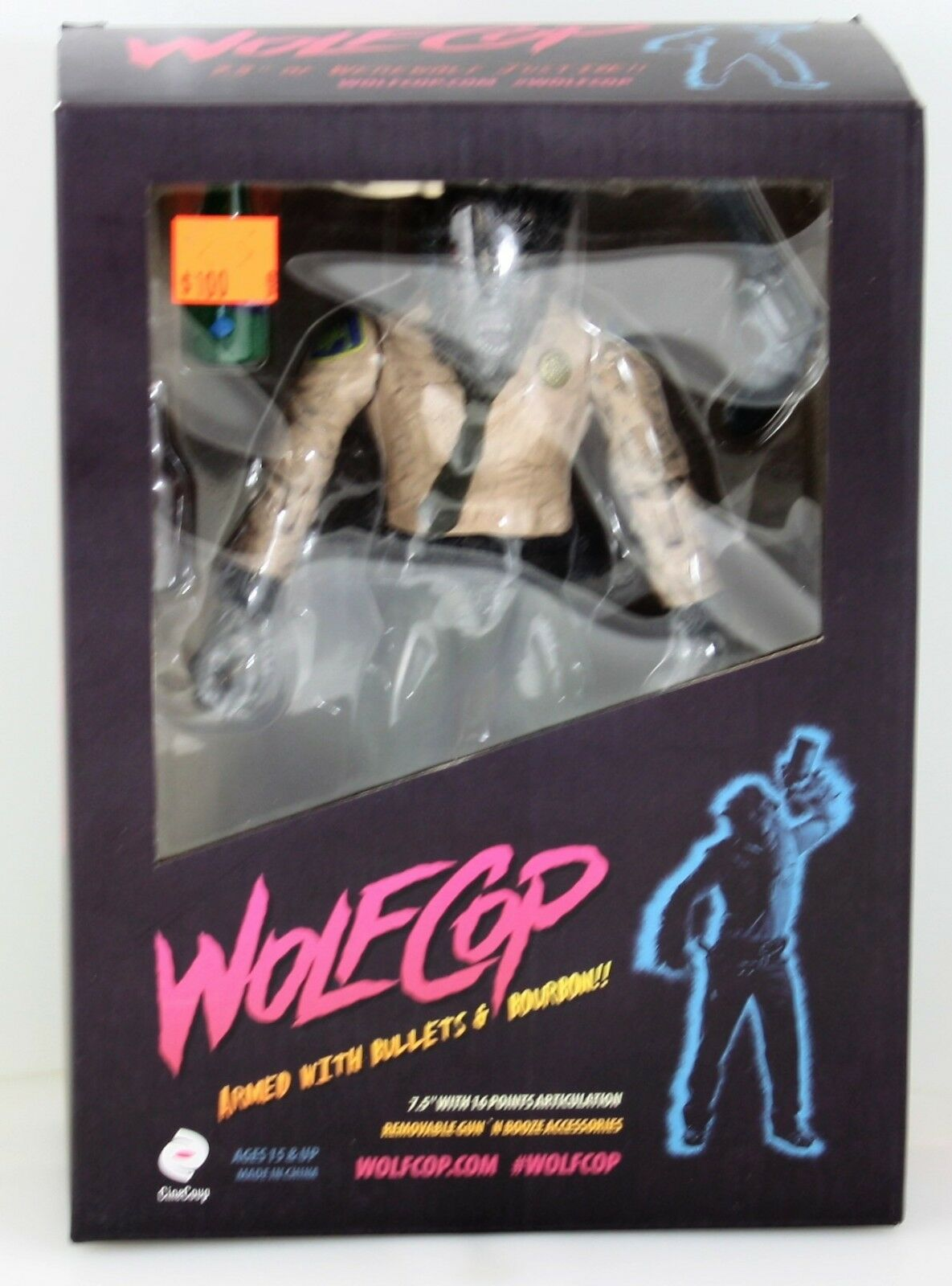 WOLFCOP ACTION FIGURE  LIMITED EDITION