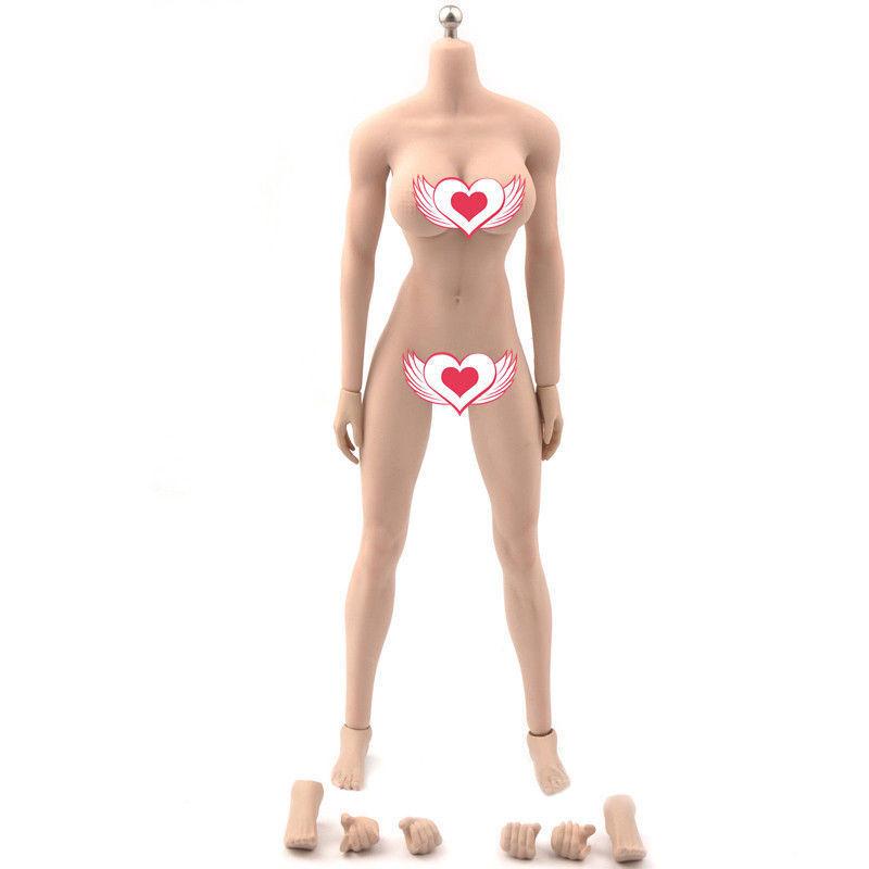 Tbleague phicen 1   6 weibliche figur plmb2017-s21b nahtlose bräune haut körper modell