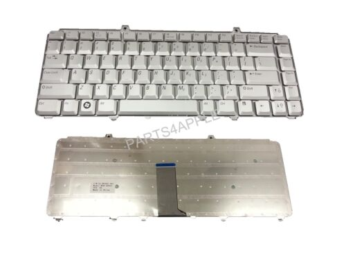 New Genuine Dell Inspiron 1545 PP41L P446J 0P446J Keyboard US Silver