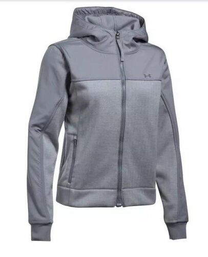 NWT Under Armour Elevated Swacket UA Women/'s Hoodie Jacket Gray S  L XL Coat