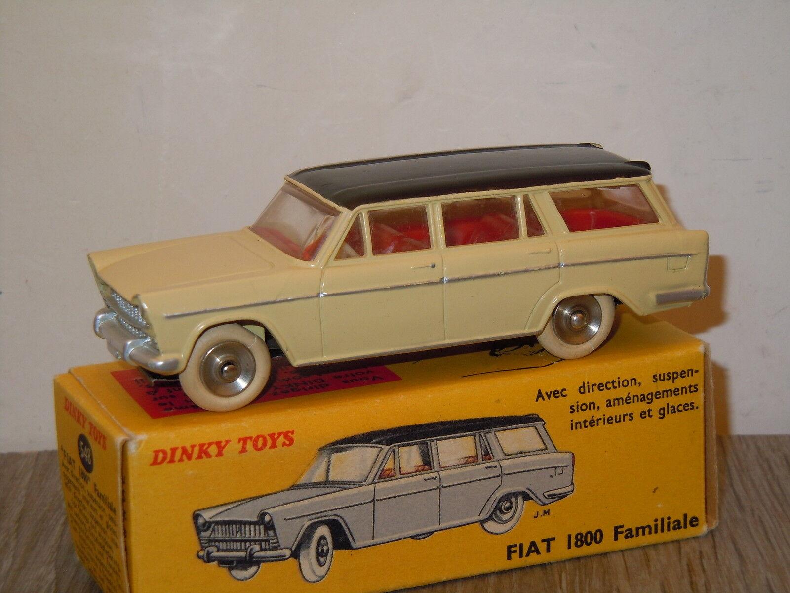 Fiat 1800 Familiale van Dinky Toys France 548 in Box 10137