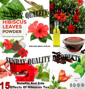 Dry Hibiscus Leaves Powder Gudhal Leaves Powder From Organic Herbs