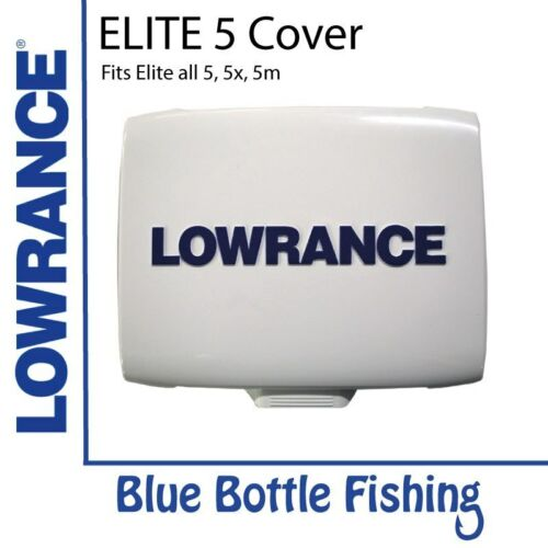 NEW Lowrance Elite 5 Sun//Dust Cover from Blue Bottle Marine