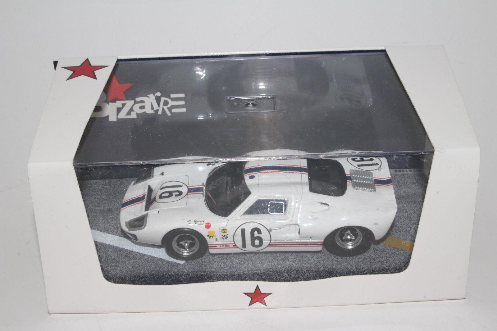 Bizarre Models  BZ297,  Ford GT40  16 1967 Le Mans Boxed