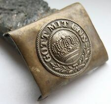 WW1 WWI Original Germany ''Got Mit Uns'' Brass Belt Buckle (FBB01)
