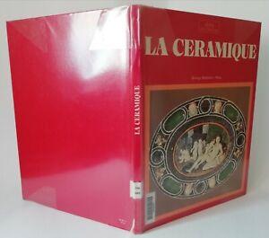 Livre LA CÉRAMIQUE Alpha décoration 1973 Large éventail de la céramique 63 pages