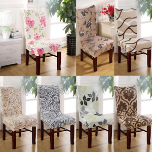 Image Is Loading Stretch Spandex Dining Room Wedding Chair Cover Protector