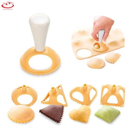 4pcs Dough Press Maker Dumpling Pie Ravioli Making Mould Pastry Kitchen Tool