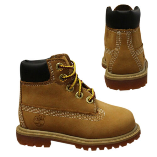 Timberland 6 Inch Waterproof Toddlers Youths Kids Wheat Boots 12809 B68E