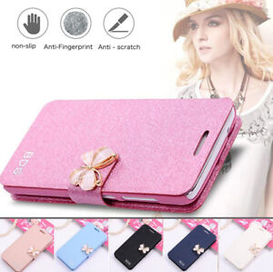 official photos 67007 7d6a4 For Xiaomi Redmi Note 5 Pro 5A Prime Butterfly PU Leather Flip ...
