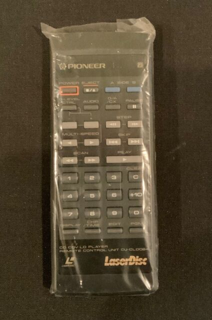 NOS NEW Pioneer CU-CLD084 IR remote control FOR LASER DISC PLAYER CLD-D503