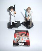 Disney Infinity 3.0 Star Wars Luke Skywalker & Princess Leia Figure Character