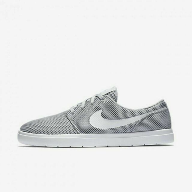 Nike SB Portmore II Ultralight Grey & White Shoes | Zumiez