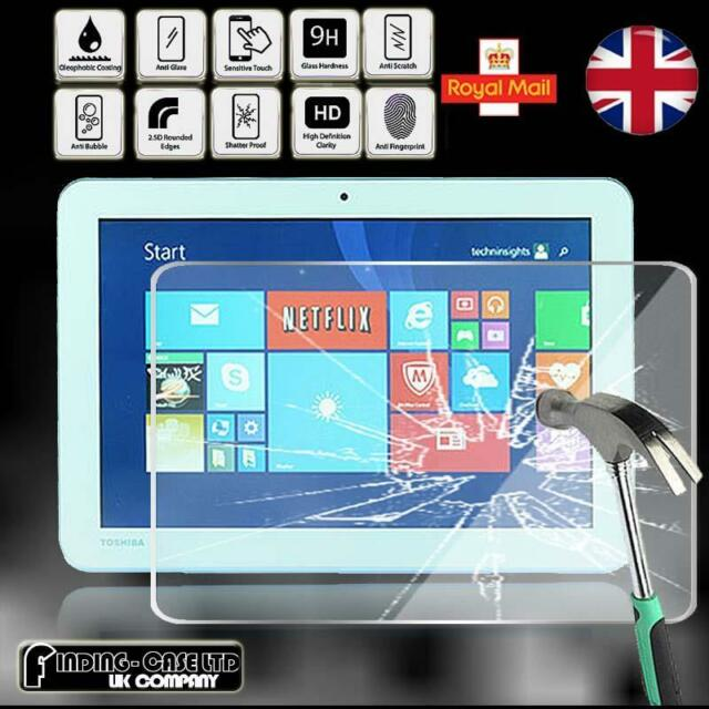 2 Pack Tempered Glass Screen Protector For TOSHIBA Encore 2 Write WT10PE-A264