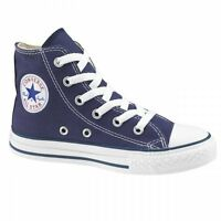Youths Converse Chuck Taylor All Star Hi Tops - Uk Size 10 / Eur 27 - Navy Blue.