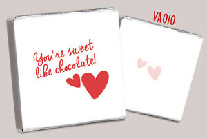 50-VALENTINE-CHOCOLATE-FAVOURS-FREE-CHOC-FUN-NEW-DESIGNS-4-LOVED-ONES