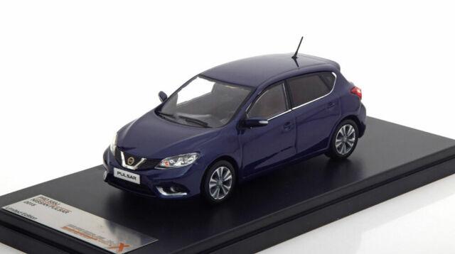 Modellauto 2015 blau Premium X 1:43 Fertigmodell Nissan Pulsar