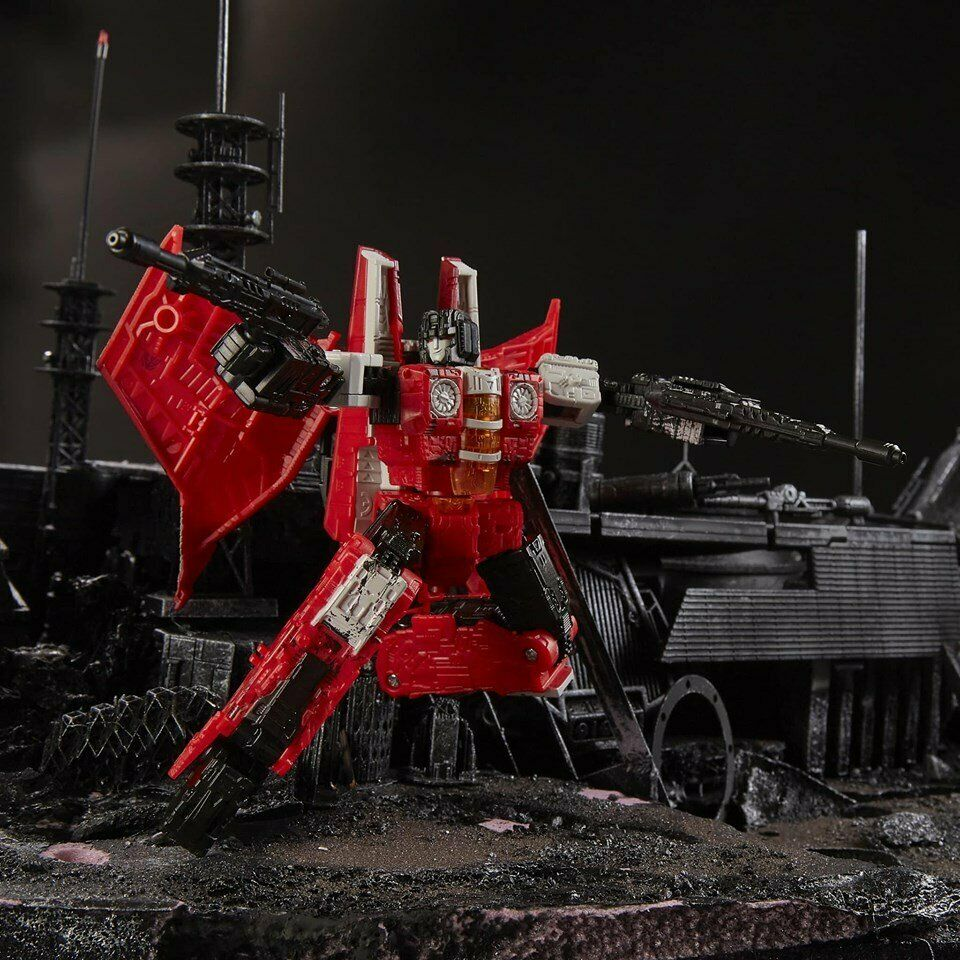 (In-Hand)  Hasbro Transformers Generations Selects WFC-GS02 rosso Wing
