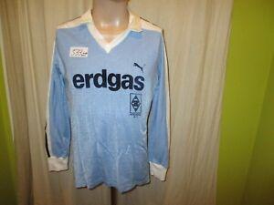 Borussia-Moenchengladbach-Puma-Auswaerts-Langarm-Trikot-1983-84-034-erdgas-034-Gr-M-TOP