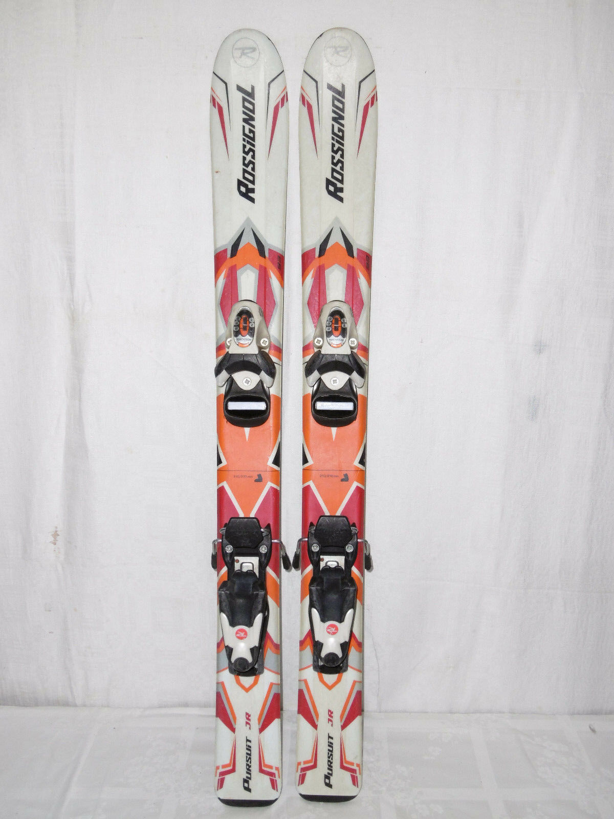 ROSSIGNOL   PURSUIT   SKI JUNIOR ALLROUND CARVER 93 CM + BINDUNG