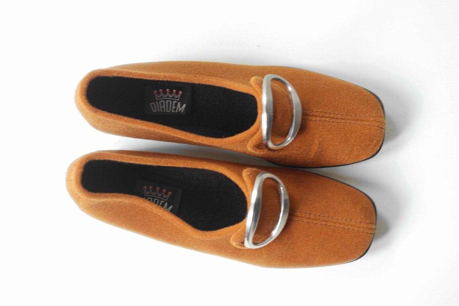 DIADEM Topas Damen Halbschuhe 60er TRUE VINTAGE Schuhe 40 Slipper Loafer NOS EUR 40 Schuhe 2cf5eb
