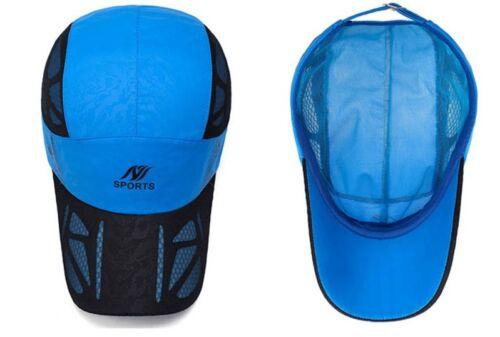 Summer Baseball Cap Men Breathable Quick Drying Mesh Hat Women Sunshade Caps