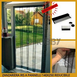 Tenda Zanzariera A Pannelli Per Porta Finestra Zanzariere Strisce
