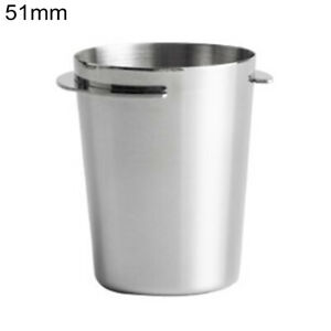 304 Stainless Steel Coffee Dosing Cup Powder Feeder Part For 58mm Portafilter
