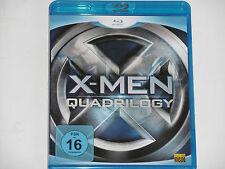 X-Men - Quadrilogy - (Hugh Jackman, Michael Fassbender...) 4xDisc BLU-RAY