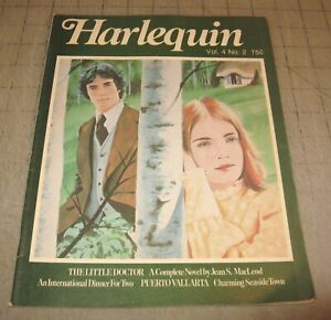 HARLEQUIN Vol 4 #2 (1976) VG- Condition Magazine - The Little Doctor Novel