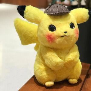 WholeSale-2019-Pokemon-Movie-Detective-Pikachu-Soft-Doll-Plush-Toy-Figure-Gift