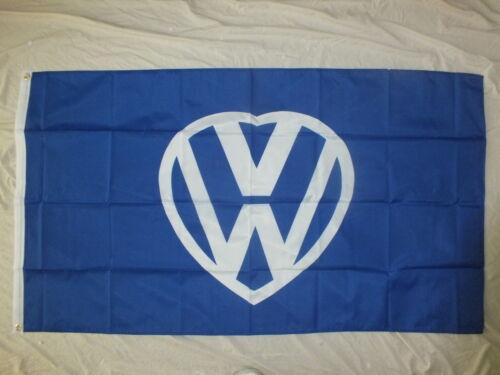 Love VW Flag Beetle Camper Transporter Van Volkswagen Fan Club Mum/'s Dad/'s Gift