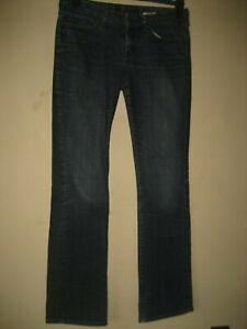 PP103-homme-bleu-Gap-demi-botte-Coupe-Droite-Jeans-Taille-28-Jambe-30-Braguette-Zippee