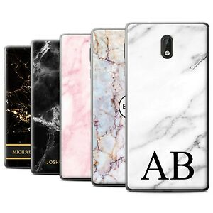 buy popular a3cf6 00227 Details about Personalised Custom Marble Case for Nokia 3/Initial/Name/Text  Gel/TPU DIY Cover