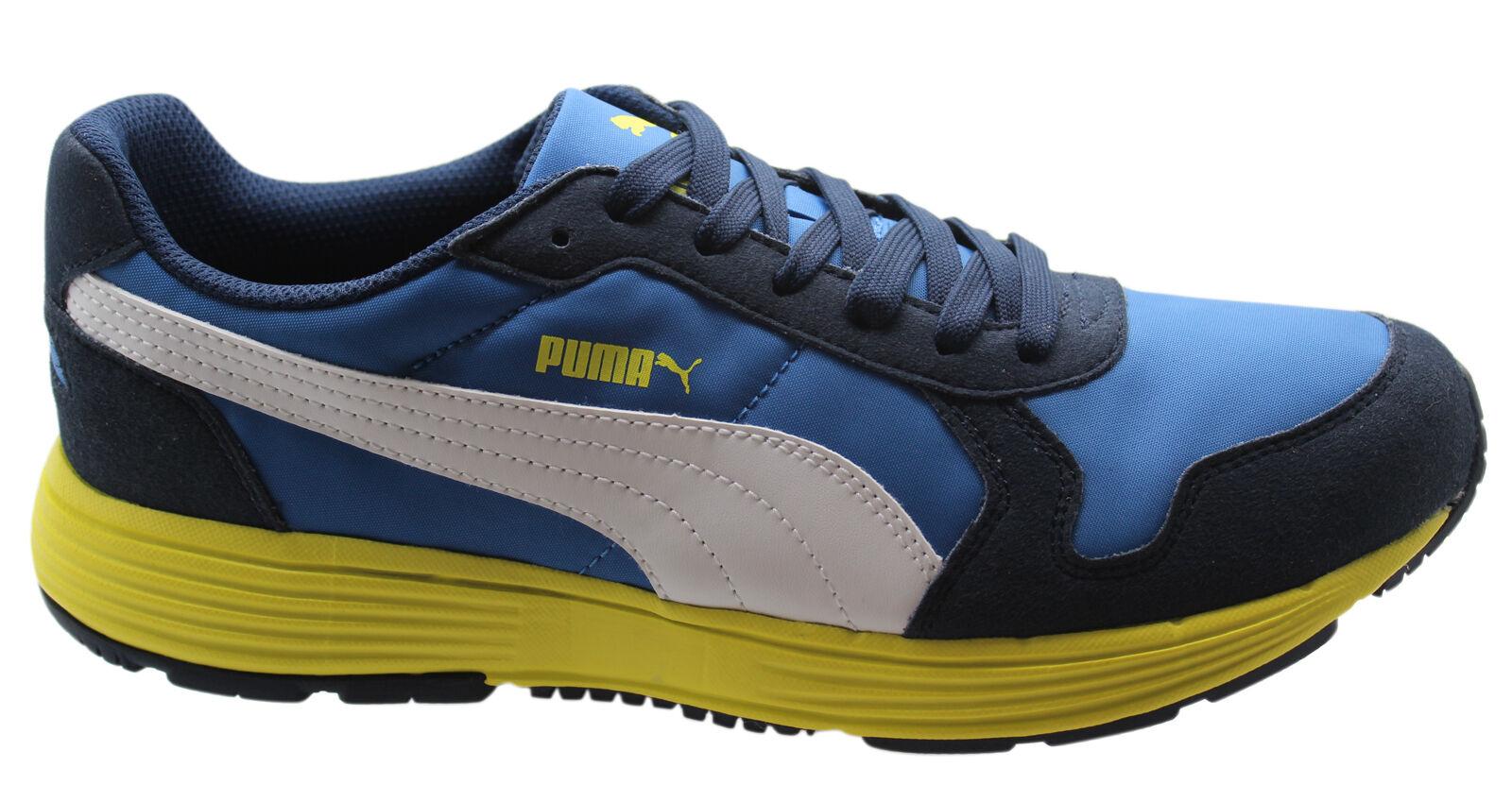 Puma Future Lace Street Runner Hombre Trainers Nylon Running Azul Lace Future 356740 10 D34 d4b346