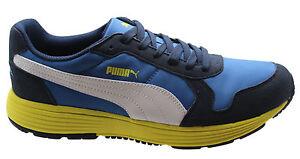 Corriente Street Future Azul Hombres Puma Entrenadores Nylon 10 D34 356740 Encaje Runner xf4dYdWnq