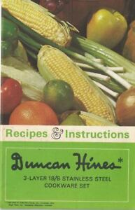 Duncan-Hines-3-Layer-18-8-Stainless-Steel-Cookware-Set-Recipes-amp-Instructions