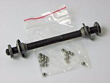 Fahrrad Vorderradachse Fahrradachse+Kugellager+Staubkappen 130 mm 18401
