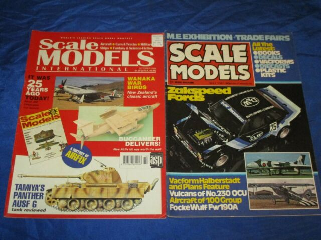 4 Scale Models International Magazine May 1981 Oct 1994