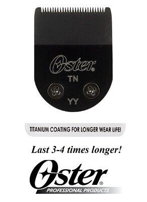 OSTER TITANIUM BLADE for Pro-Cord//Cordless,MiniMax,Vorteq,Teqie,Artisan Trimmers