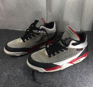 063734a11b7 RARE NIKE AIR JORDAN FLIGHT CLUB 80'S WHITE BLACK RED SIZE 9 599583 ...