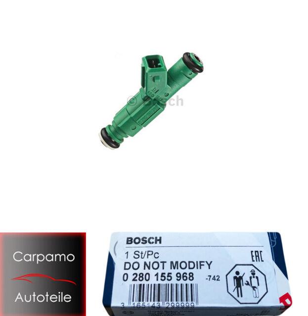 5 x Einspritzventil Benzin BOSCH 0 280 155 968
