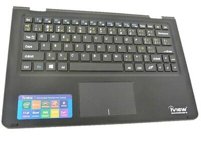 """iVIEW Maximus 11.6/"""" Palmrest with Keyboard P//N 1601-MAXIMUS"""