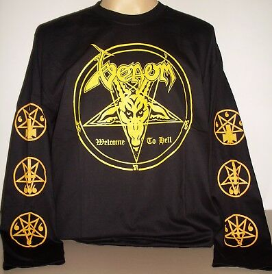 The Angels Australian Band Long Sleeve Black T-Shirt Size S to 2XL