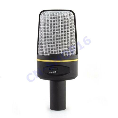 MICROFONO CONDENSATORE REGISTRAZIONE VOCALE CONFERENZE CHAT NOTEBOOK PC QY-920