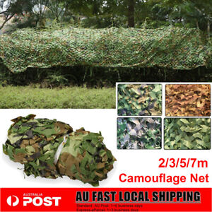 3 Size Military Hunting Camouflage Woodland Camo Netting Tent Cover Garden Decor